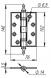 Петля универсальная Castillo CL 500-A4 102x76x3,5 ABL-18 Темная медь