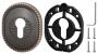 Декоративная накладка на цилиндр ET-DEC CL (ATC Protector 1) ABL-18 Темная медь