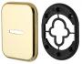 Декоративная Квадратная накладка на сувальдный замок PS-DEC SQ (ATC Protector 1) GP-2 Золото