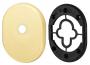 Декоративная накладка на цилиндр со штоком BK-DEC (ATC Protector 1) SG-1 Матовое золото