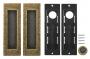Ручка для раздвижных дверей SH010 URB OB-13 Античная бронза