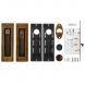 Набор для раздвижных дверей SH011 URB АВ-7 (бронза)