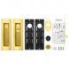 Набор для раздвижных дверей SH011 URB GOLD-24 (золото 24К)