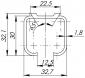 Верхняя направляющая Comfort R 60/80/1,8/3000 track (3 м)